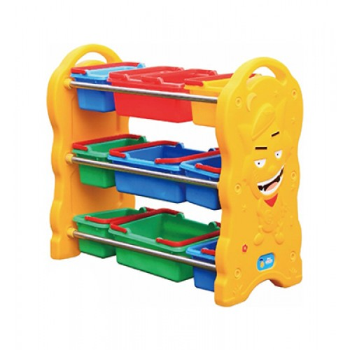 Boy Multi-Fuctional Toy Shelf