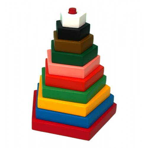 Build-A-Tower-Pentagon (Big-10 Pieces)