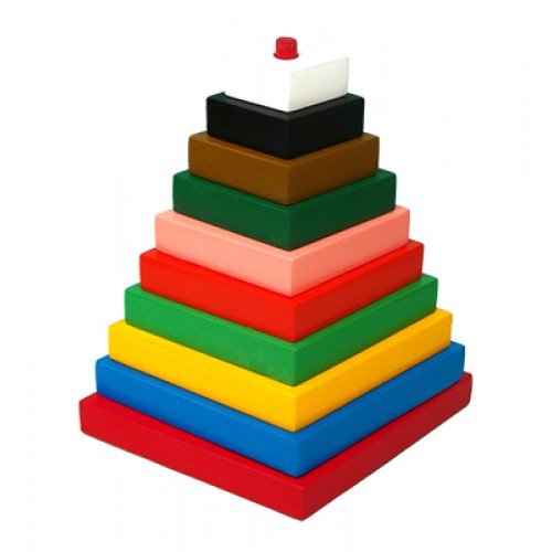 Build-A-Tower-Square (Big-10 Pieces)