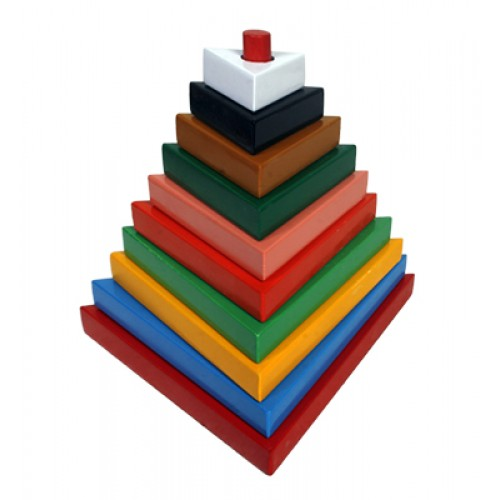 Build-A-Tower-Triangle (Big-10 Pieces)