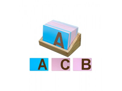 Sand Paper English Alphabets-Uppercase