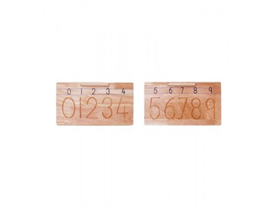 Carving Numbers (1 To 10)