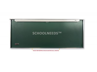 GREEN CERAMIC BOARD WITH INTEGRATED PROJECTION SCREEN