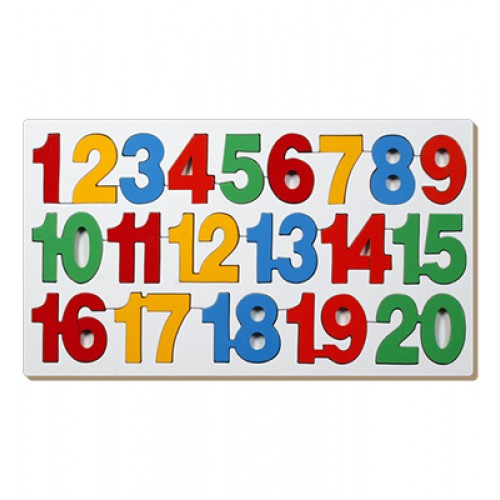 Counting Inset Puzzle-1 To 20