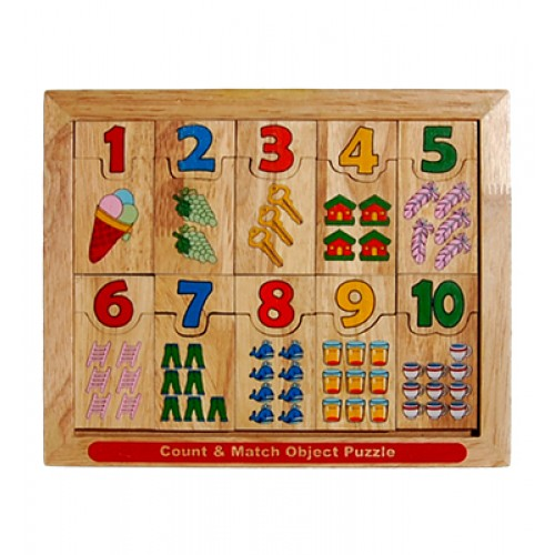 Count & Match Object Puzzle