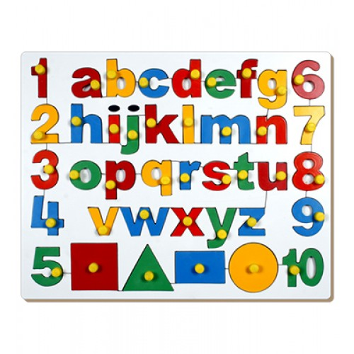 English Alph.-Lowercase With Numbers And...