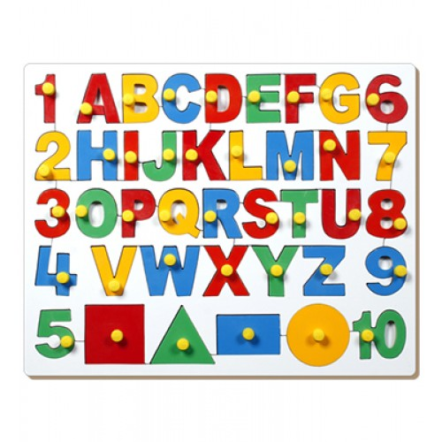 English Alph.-Uppercase With Numbers And...