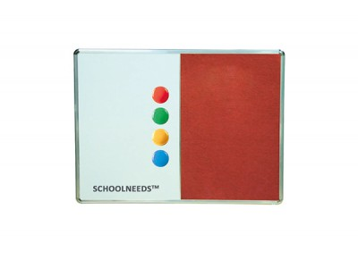 WRITEXTM COMBO WHITE MAGNETIC & PIN BOARD