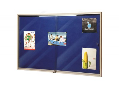 WRITEXTM SLIDING GLASS DOOR NOTICE BOARD